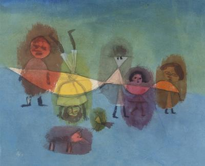Small Children; Kindergruppe by Paul Klee