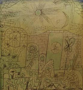 Spring-Sun by Paul Klee