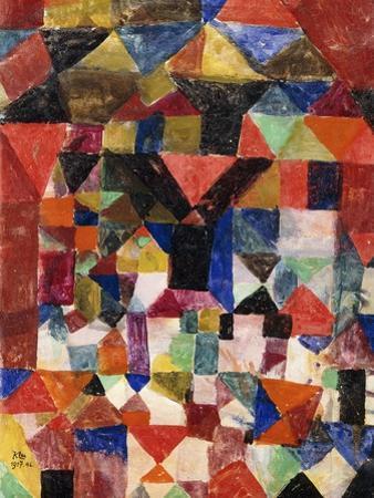 Stadtartiger Building by Paul Klee