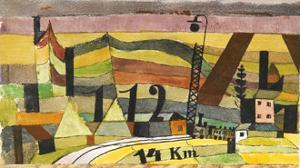 Station L 112, c.14 Km by Paul Klee