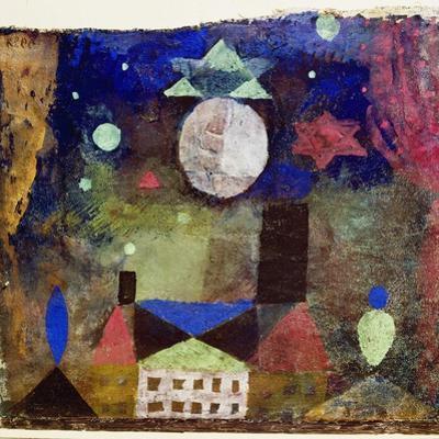 Stern über bösen Häusern by Paul Klee