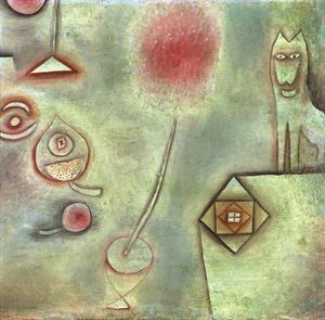 Still Life with Animal Statuette by Paul Klee