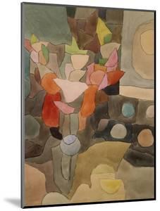 Still Life with Gladioli; Gladiolen Still Leben by Paul Klee