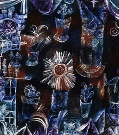 Still-Life with Thistle by Paul Klee