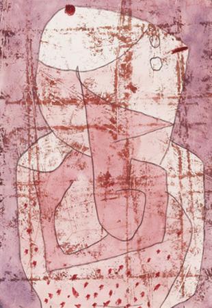 Swiss Clown by Paul Klee