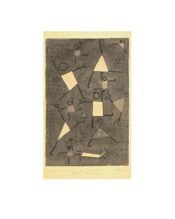 Tanze Vor Angst by Paul Klee