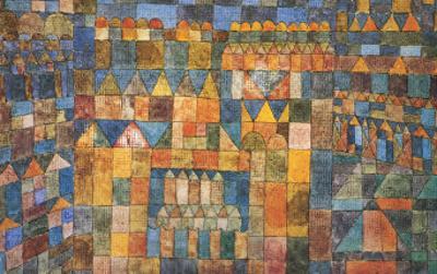 Tempelviertel von Pert, c.1928 by Paul Klee