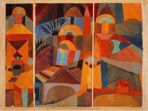 Temple Gardens, 1920 by Paul Klee