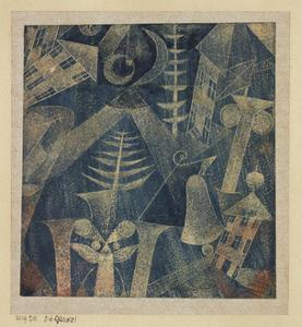 The Bell! by Paul Klee