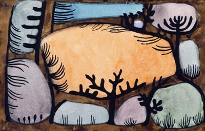 The Day in the Forest; Der Tag Im Wald by Paul Klee