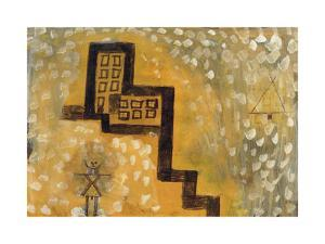 The House on the Hill by Paul Klee