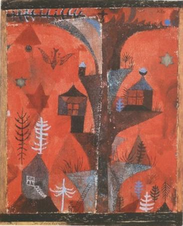 The Houses-Tree by Paul Klee