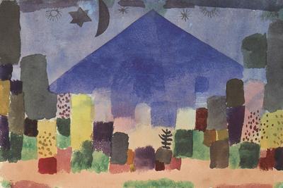 The Mountain Niesen, Egyptian Night