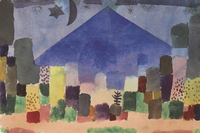 The Mountain Niesen, Egyptian Night by Paul Klee