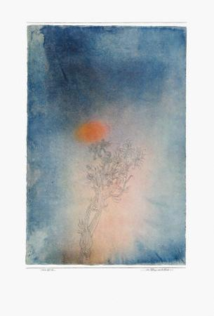 The Plant and Its Enemy by Paul Klee