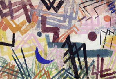 The Power of Play in a Lech landscape by Paul Klee