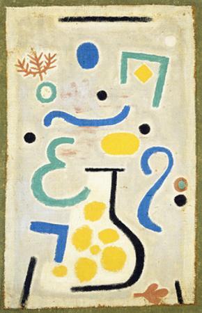 The Vase, 1937 by Paul Klee