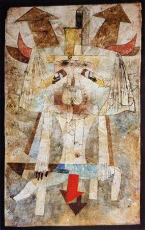 The Wild Man by Paul Klee
