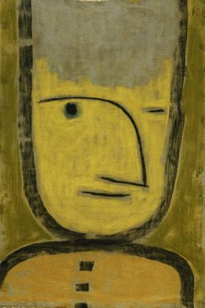 The Yellow-Green by Paul Klee