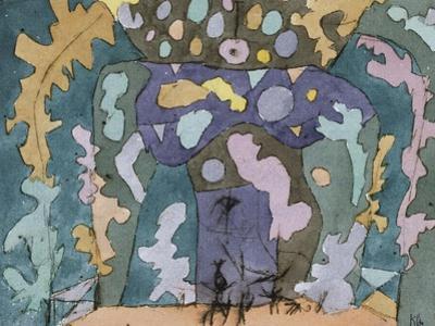 Theater, Kleines Buehnenbild by Paul Klee