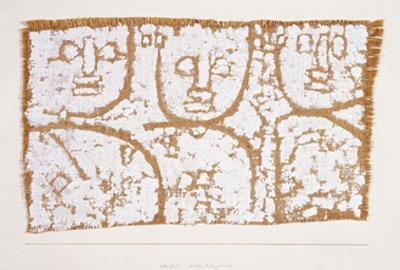 Three Figures by Paul Klee