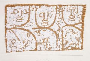 Three Figures by Paul Klee