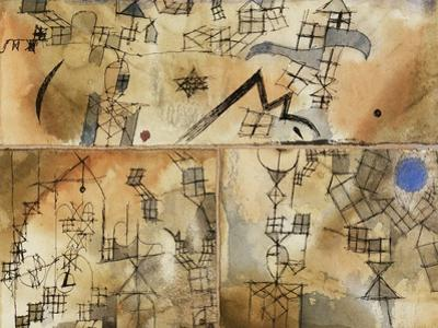 Three-Part Composition by Paul Klee