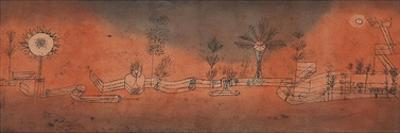 Tropical Gardening by Paul Klee