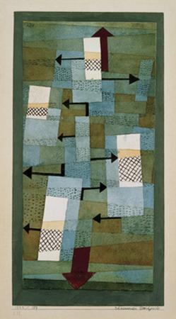 Unstable Equilibrium by Paul Klee