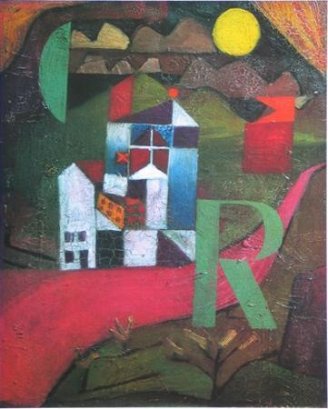 Villa R., 1919 by Paul Klee