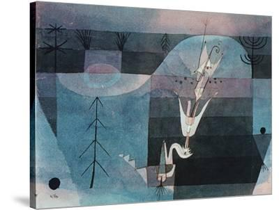 Wallflower (detail) by Paul Klee