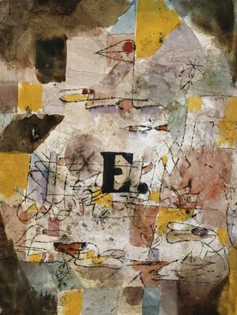 Wasservogel (E. nten) by Paul Klee