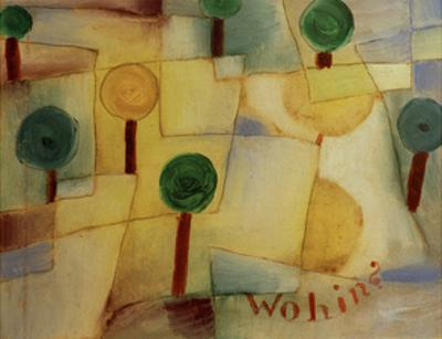 Where To? by Paul Klee