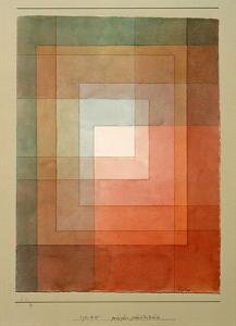 White Framed Polyphonically by Paul Klee