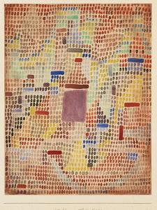 With the Entrance by Paul Klee