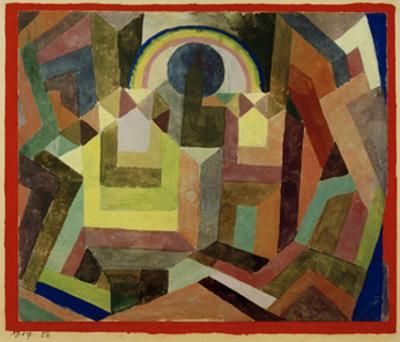 With the Rainbow by Paul Klee