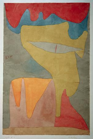 Young Lady by Paul Klee