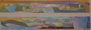 Zwei Kleine Aquarellen by Paul Klee
