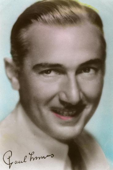Paul Lukas (1895-197), Hungarian Actor, C1930S--Giclee Print