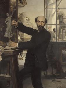 Le Sculpteur René de Saint Marceaux by Paul Mathey