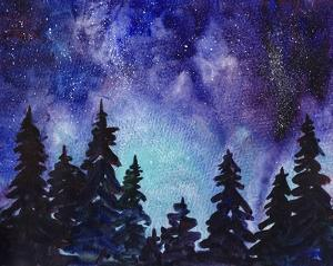Night Sky III by Paul McCreery