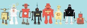 Robot Horizon by Paul McCreery