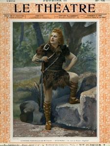 Jean de Reszke as Siegfried, Front Cover of 'Le Theatre' Magazine, 1902 by Paul Nadar