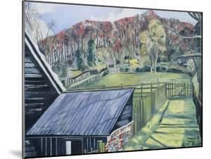 Behind the Inn by Paul Nash