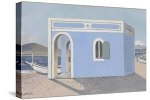 Blue House on the Shore by Paul Nash
