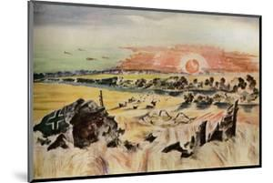 'Bomber in the Corn', 1940 by Paul Nash