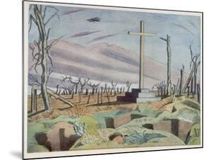 Canadian Monument, British Artists at the Front, Continuation of the Western Front, Nash, 1918 by Paul Nash