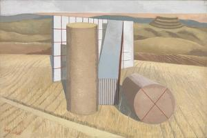 Equivalents for the Megaliths by Paul Nash