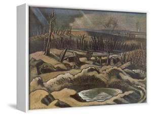 Field at Passchendaele, British Artists at the Front, Continuation of the Western Front, Nash, 1918 by Paul Nash