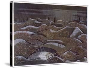 Hill 60 from the Cutting, British Artists at the Front, Continuation of the Western Front, c.1918 by Paul Nash